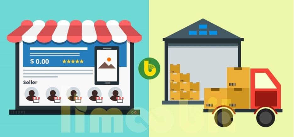 تفاوت کسب و کار Marketplace و drop shipping